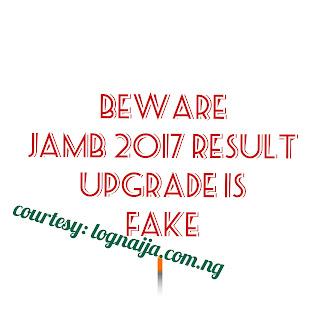 2017 jamb upgrade
