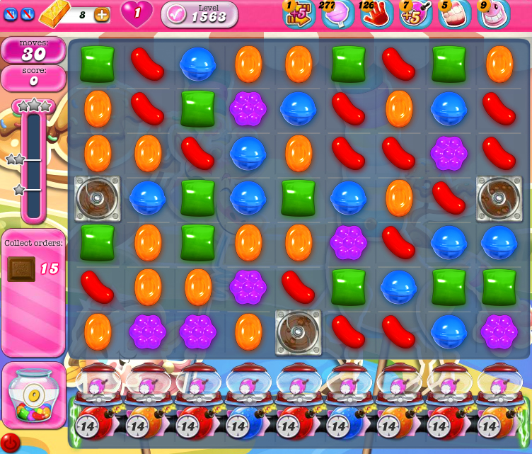 Candy Crush Saga 1563