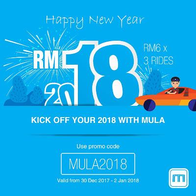 MULA Promo Code MY