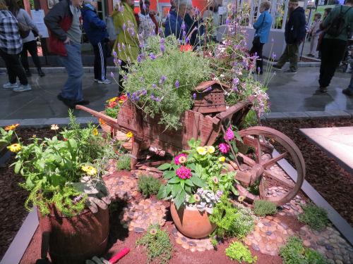 Philadelphia Flower Show 2020- garden carts