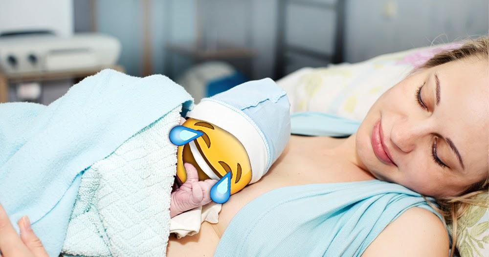 Durch Sexting schwanger geworden: Schülerin (17) bekommt Kind mit Emoji-Gesicht