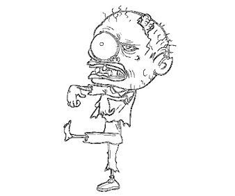 5 The Walking Dead Coloring Page