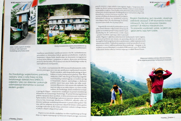 Podróż do Darjeeling