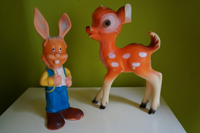pouet bambi flappy le manege enchanté magic roundabout 1966 serge danot delacoste squeeze toy squeak