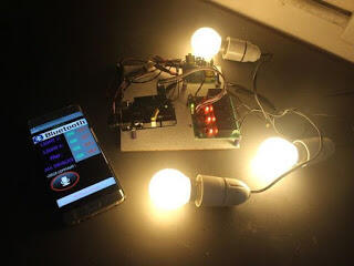 Bluetooth Controlled Home Automation system with Arduino