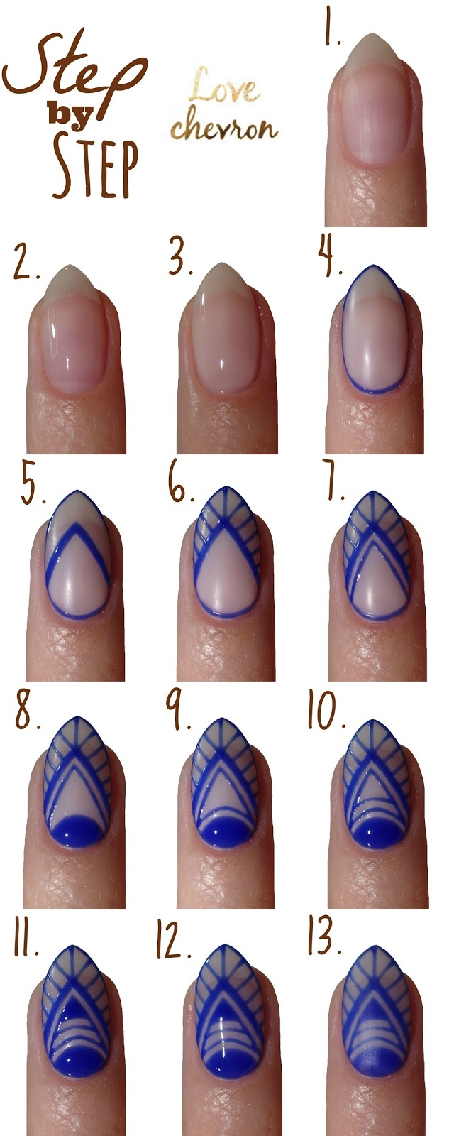 step by step negative space nails