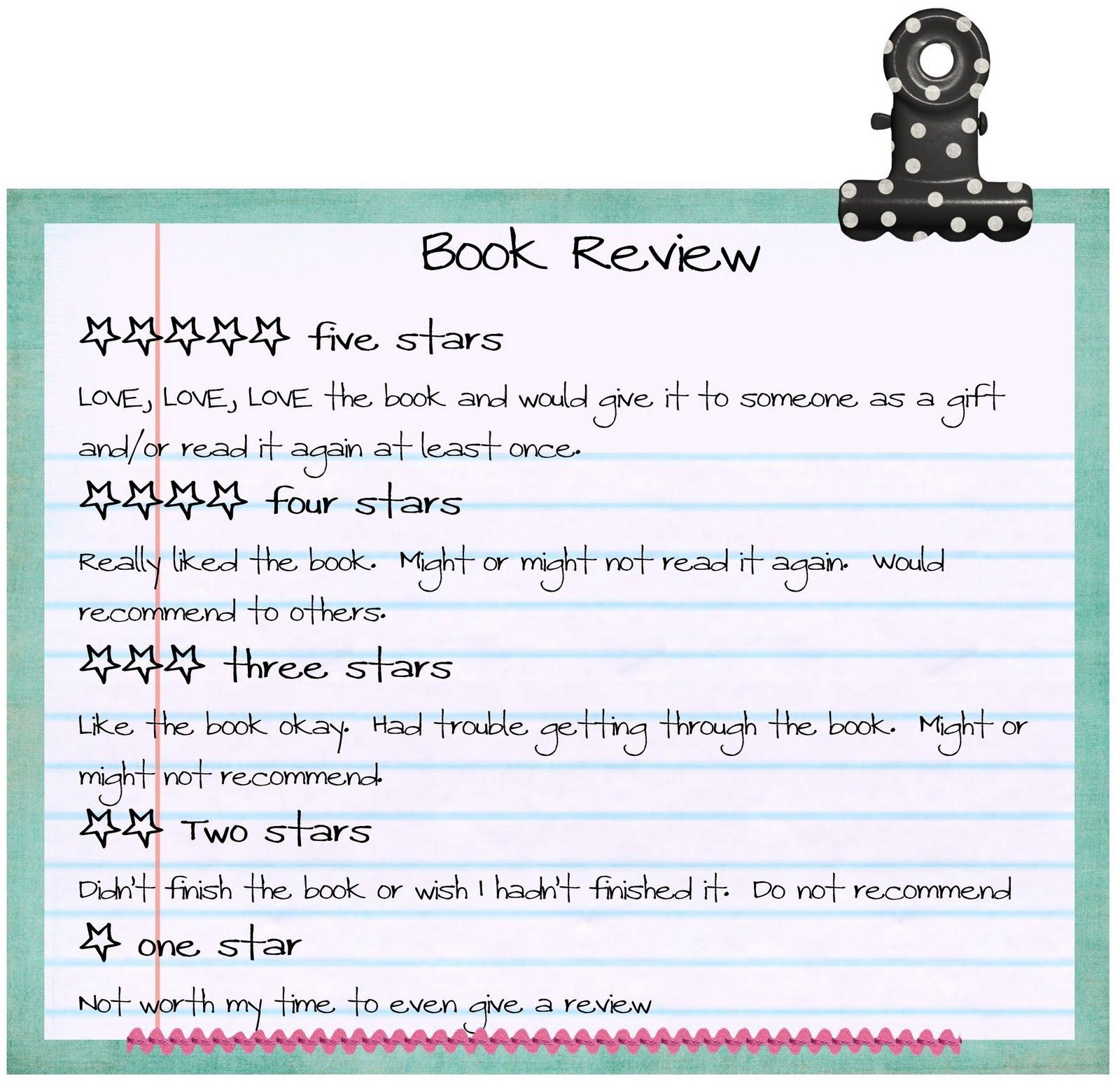 Sample Book Reviews