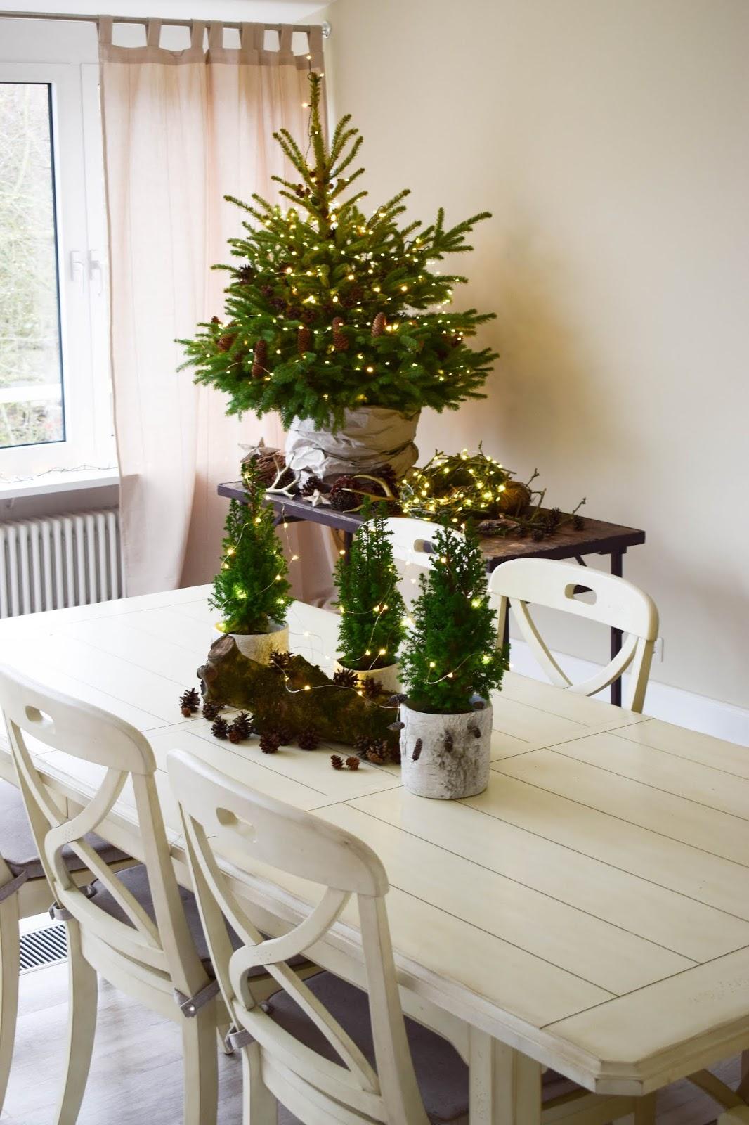 Natürliche Deko Für Den Weihnachtsbaum