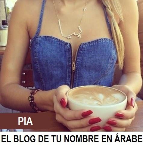 Collar con Nombre en Árabe PIA