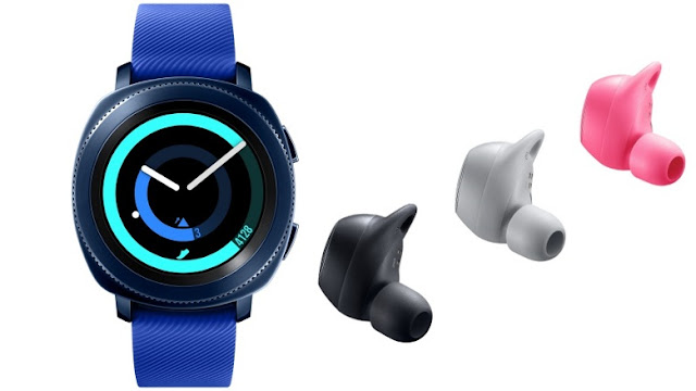 ساعة سامسونج Gear spor و Icon X متوفرة الان في الولايات المتحدة