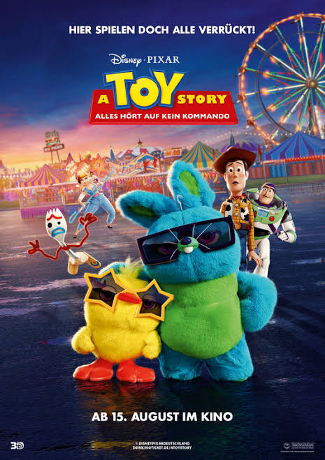 Toy Story 4 (2019) Dual Audio 720p HDRip [Hindi – English] 800MB
