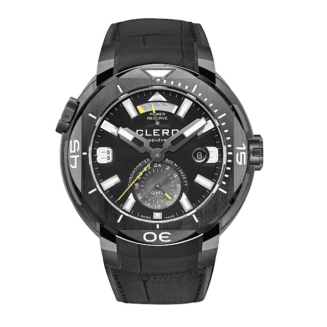 Clerc Hydroscaph GMT Power-Reserve Chronometer Watch