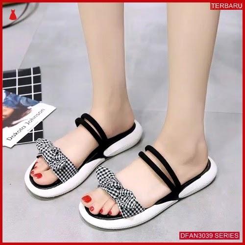 DFAN3039S148 Sepatu Hdr02 Sandal Tali Wanita Flip Flop BMGShop