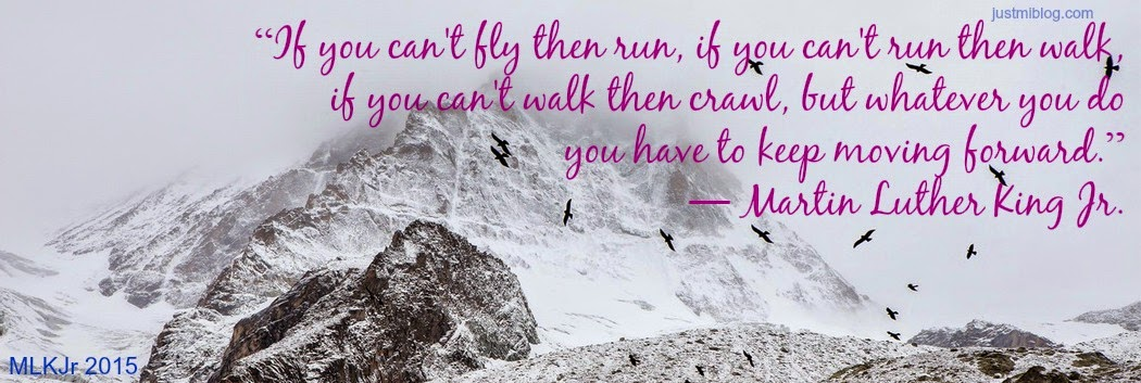 King's fly, run, walk quote