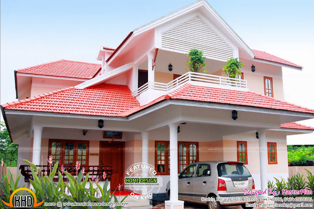 Beautiful Finished House In Kerala - Home Design
