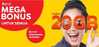 cara mendapat kuota gratis Indosat Oktober 2017