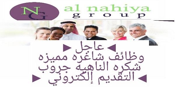 وظائف شاغرة بمجموعة النهيا في الإمارات لمختلف التخصصات