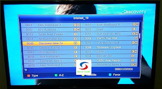 channel intelsat 19