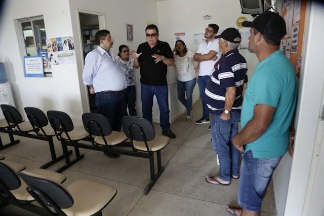 Prefeito Joaquim Anuncia revitalização no Posto de Saúde de Lagoa de Fernando