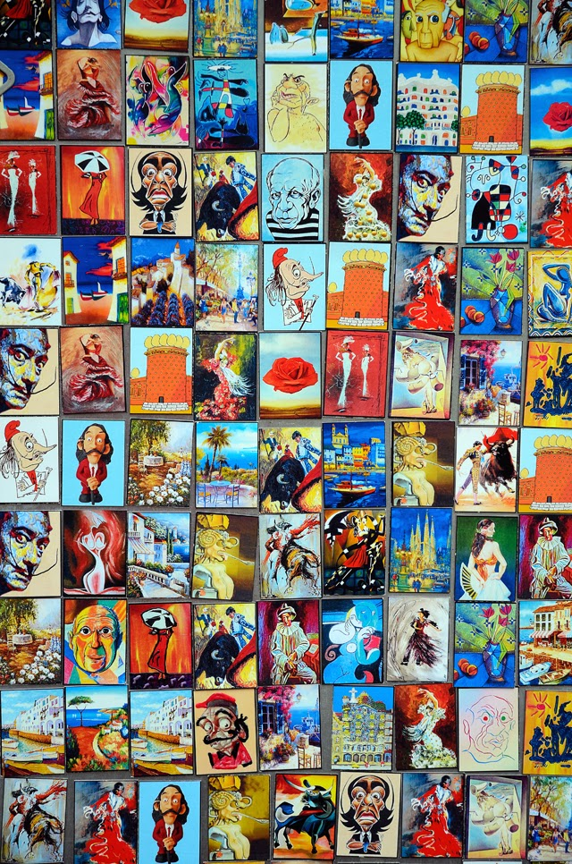 Artistic Postcards Dali Museum [enlarge]