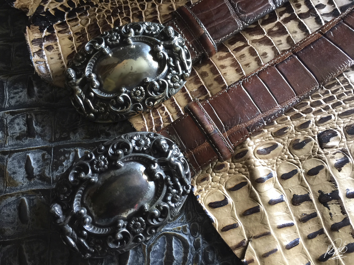 vintage Brighton belts x 2