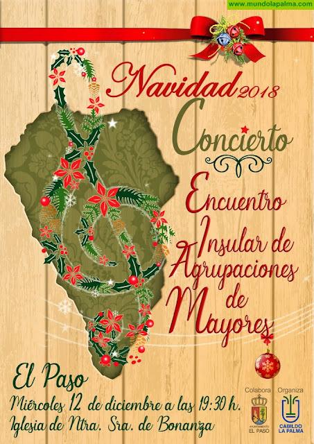 El Cabildo de La Palma celebra un concierto de Navidad de mayores de la isla