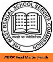 WBSSC Head Master Results