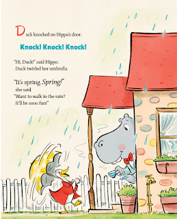 Duck and Hippo in the Rainstorm Children's Book Review