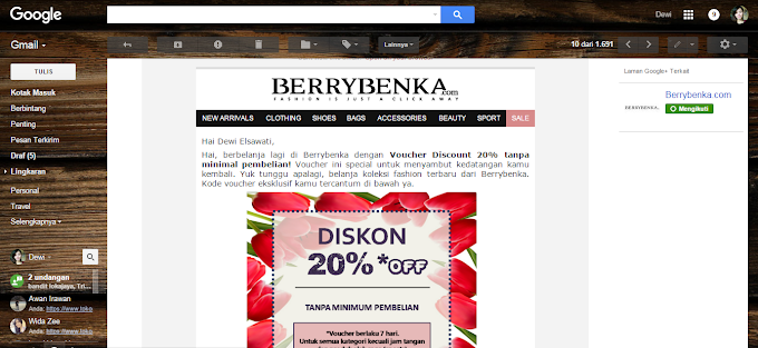 Special Shopping with Berrybenka