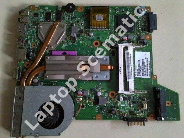 Motherboard Toshiba L500
