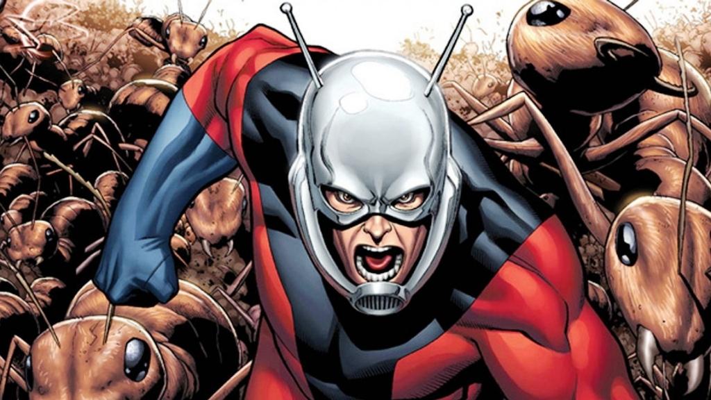 Ant Man Cartoon Image Imgstar