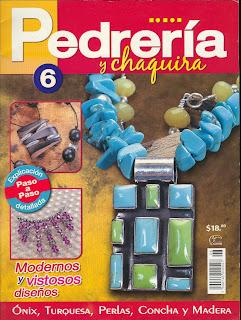 Pedreria y Chaquira Nro. 6 – Modernos y Vistosos Diseños