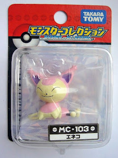 Skitty Pokemon figure Tomy Monster Collection MC series