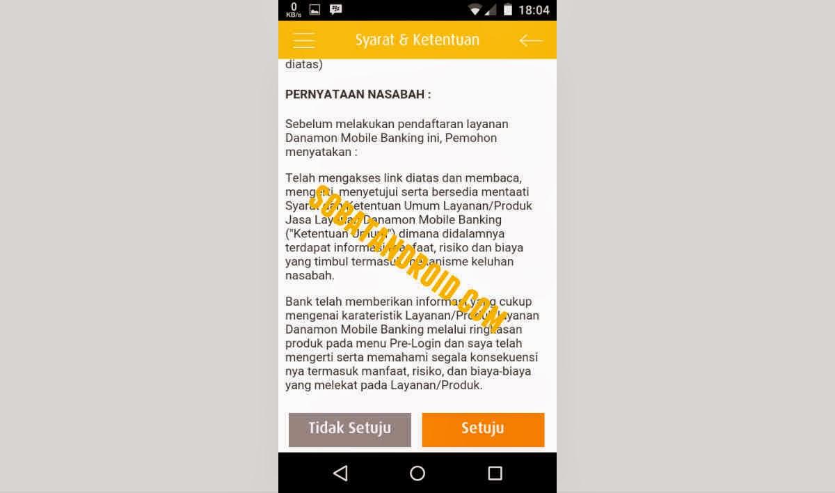 Cara Aktivasi Login Aplikasi D Mobile Danamon Mobile Banking Android