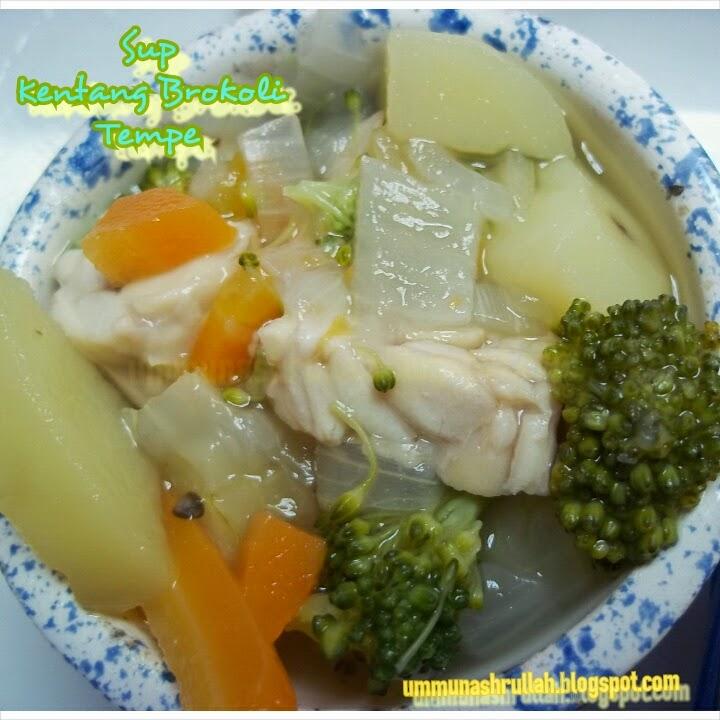 Resep Membuat Sop Ayam Brokoli Wortel Bergizi Sedap Nikmat