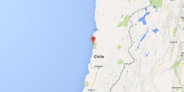 Registraron un terremoto de 6,1 que sacudió el norte de Chile 0002151260