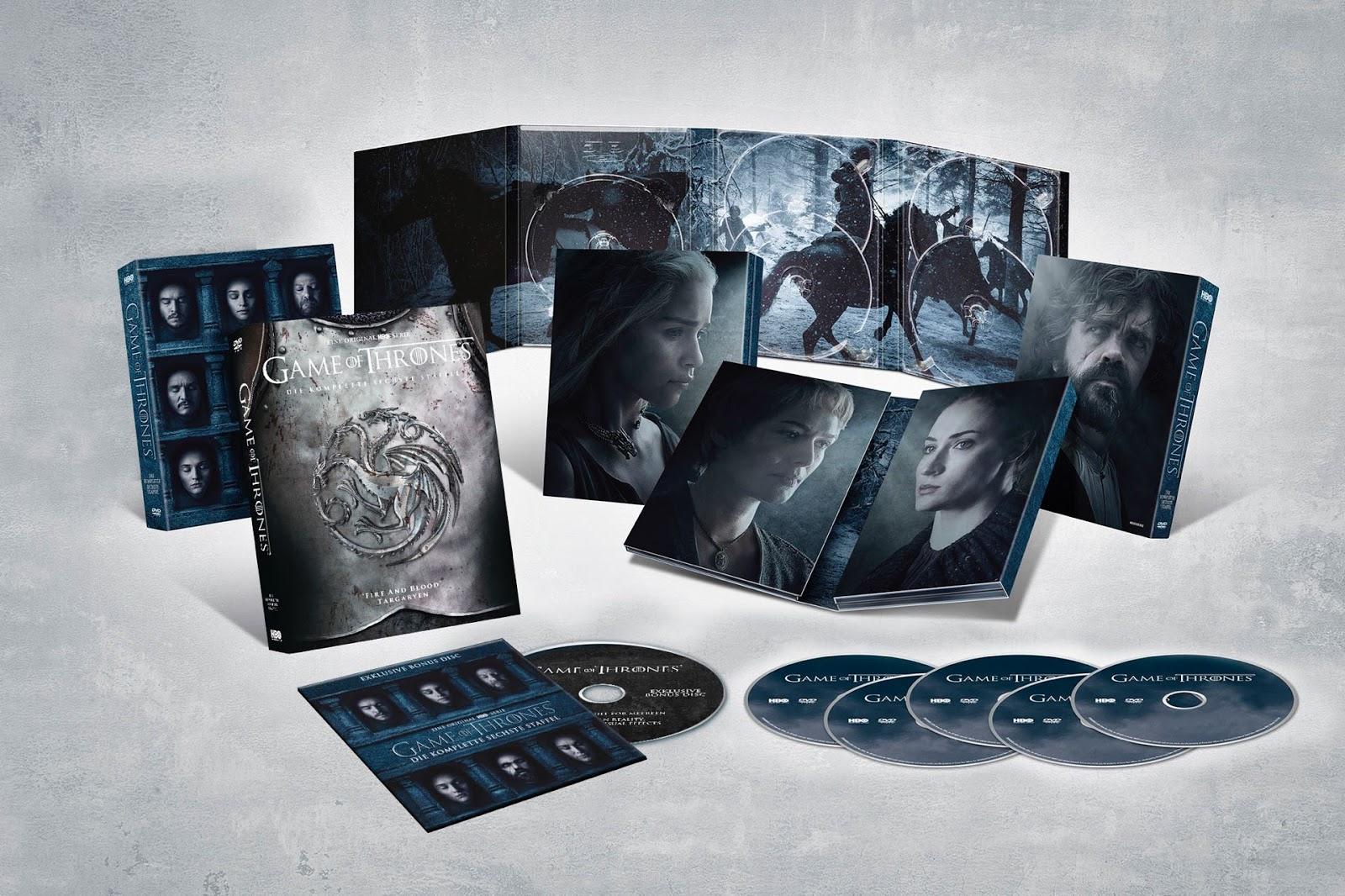 Mykinotrailer Game Of Thrones Staffel 6 Alle 5 Editionen Im