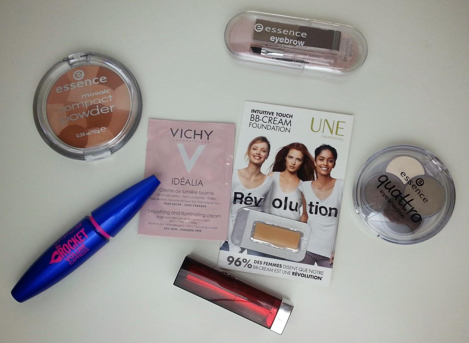 Essence, Lancôme, L'oréal, Gemey Maybelline