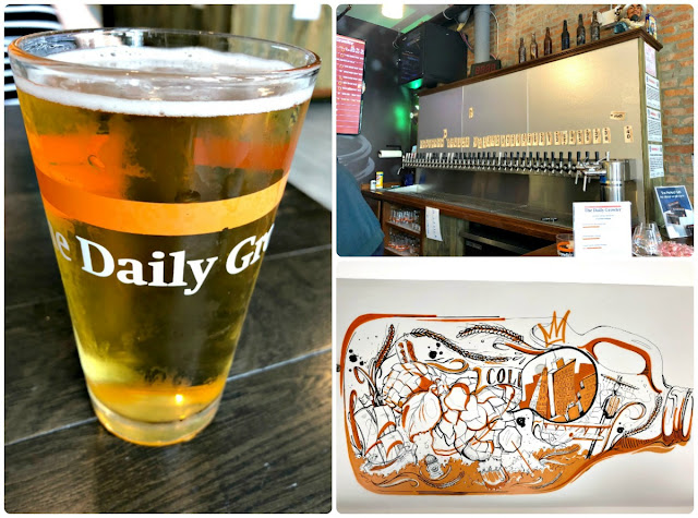 When you are looking for a more chill, laid back spot to enjoy a few locally brewed beers, then a stop at The Daily Growler near German Village should be a part of your agenda while in Columbus. While not an actual brewery, The Daily Growler does boast 60 taps with a majority of those taps dedicated to locally produced or Ohio made beers.