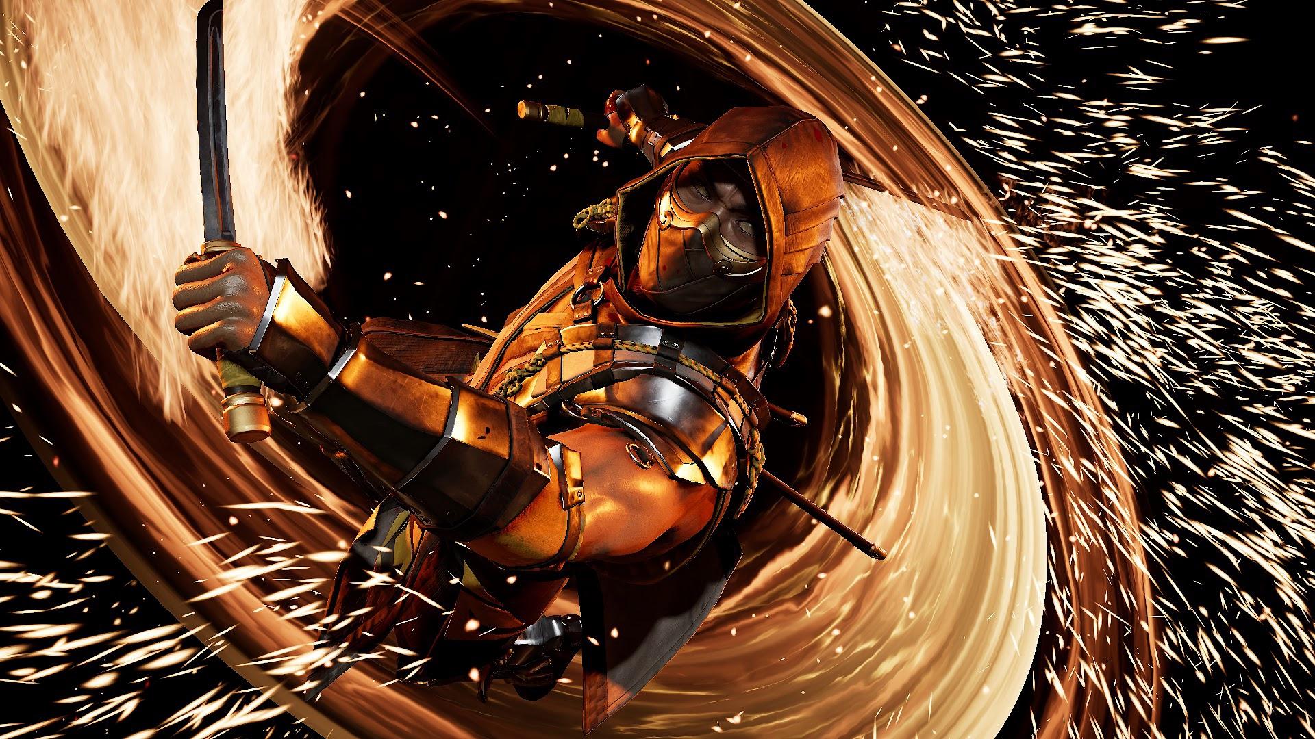Scorpion, Mortal Kombat 11, 4K, #164 Wallpaper