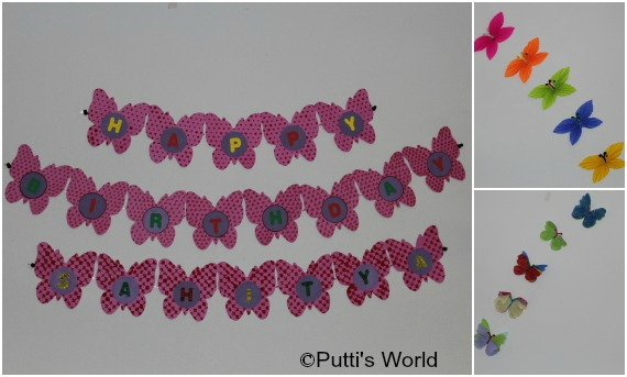 DIY Butterfly Party Decorations