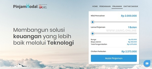 Pinjaman Online Cepat Cair dari PinjamModal.id