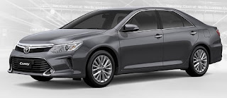 Harga Toyota Camry Dark Grey Metallic di Pontianak