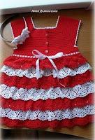 Vestido Infantil Volantes Patron