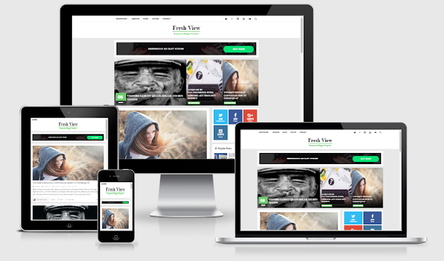 Fresh View - Best Responsive and SEO Blogger Template