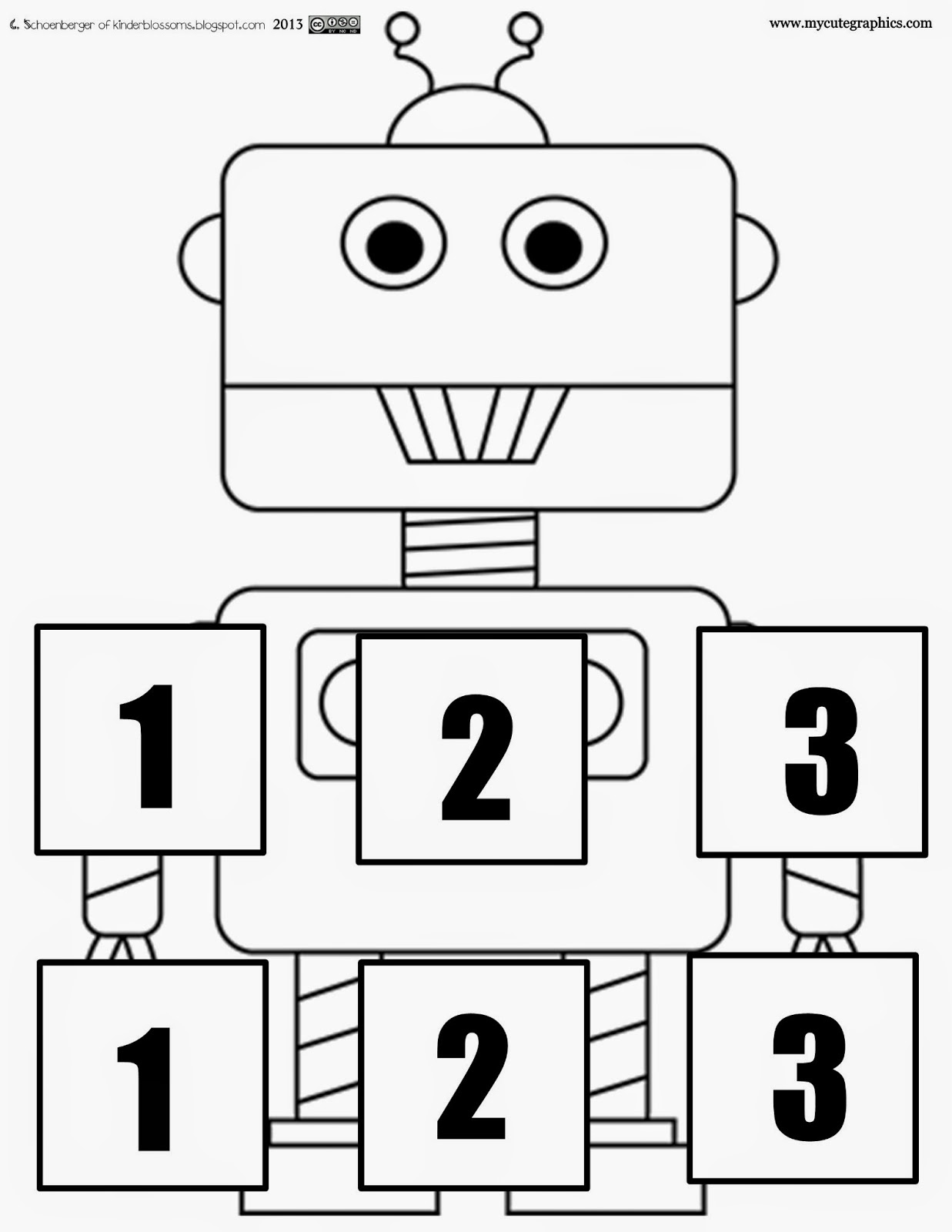 Christina's Kinder Blossoms: Syllables with Mr. Syllabot
