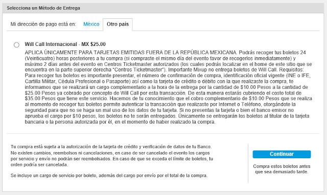 Minha experiência com a Ticketmaster mexicana