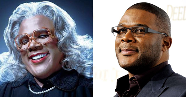Madea and Tyler Perry