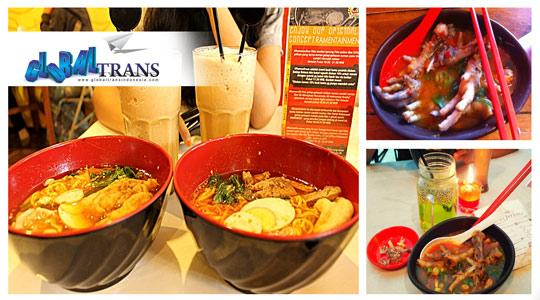 Ceker Midun dan Jigoku Ramen Makanan Pedas Bandung