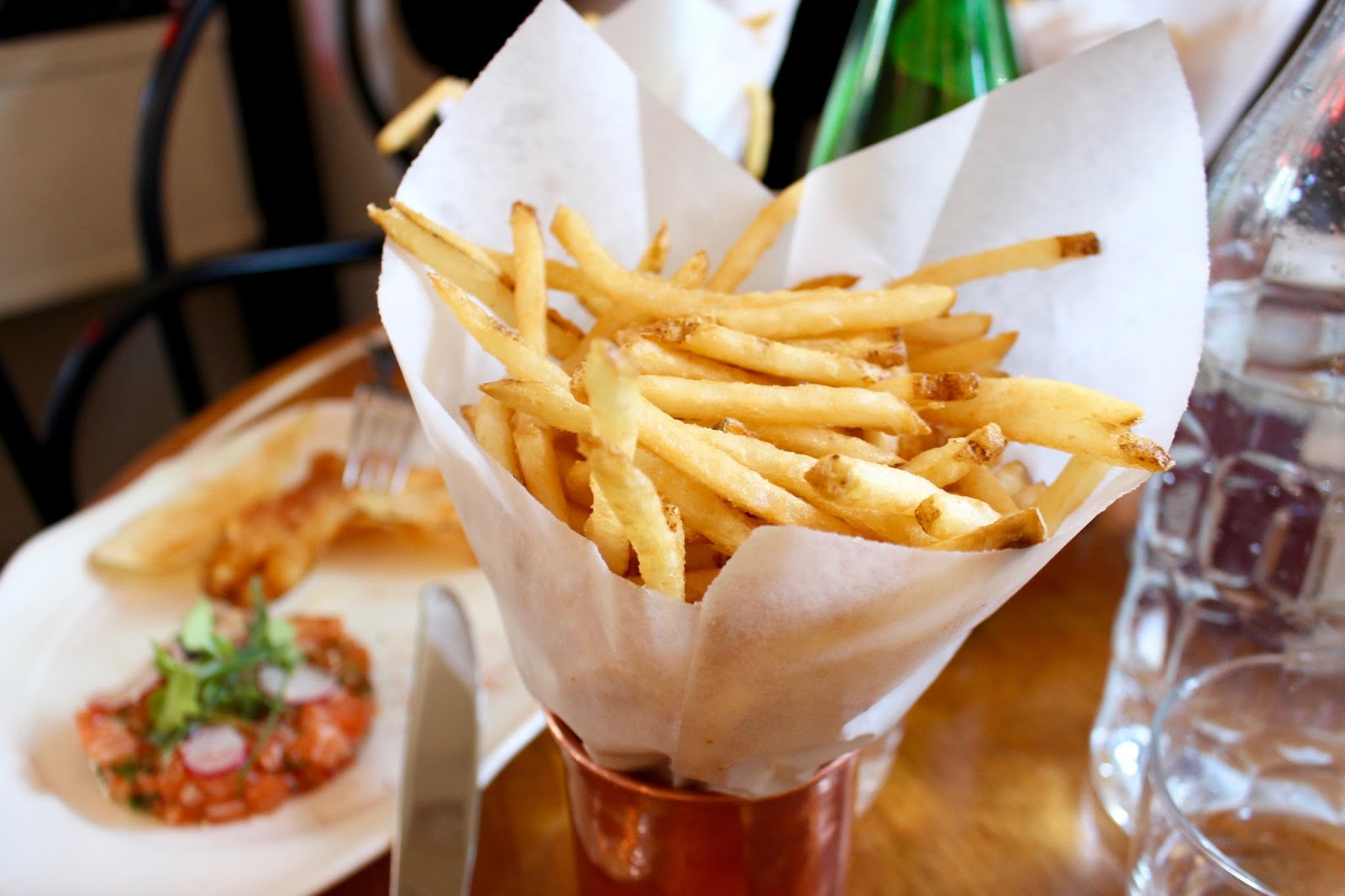 The Standard Grill fries | New York